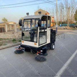 工程车间用扫地车 电动扫地车驾驶式