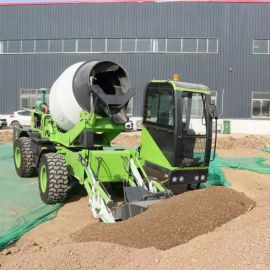 厂家供应 混凝土搅拌罐车 2.6方C款自上料搅拌车