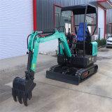 農業工程施工小型挖掘機 進口液壓系統小型挖掘機