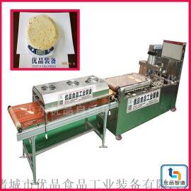 全自动压饼机、商用糊化烙饼机、优品现货压饼机