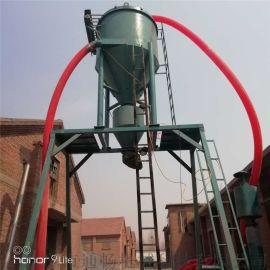 港口码头装灰卸船机械臂全自动吸料机风压式石粉抽送机