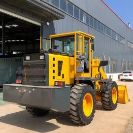四驱小型装载机 牧场养殖矿用砂石铲车 厂家直销
