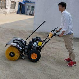 捷克手推式扫雪机 道路清理清雪 滚刷式清雪机