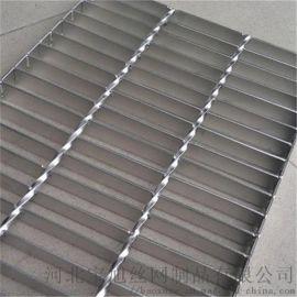 热镀锌格栅板平台用于楼梯,走道