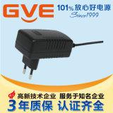 12V1.5A, 24V0.75A過UL, GS, CB, CE, CCC,PSE認證電源適配器(GM18-120150)