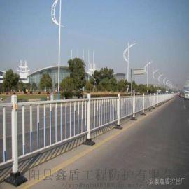 湖南益阳市政道路护栏栏杆 市政交通隔离护栏