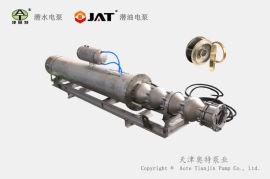 150QHW不锈钢潜水泵, 卧式潜水泵, 多级海水泵