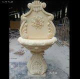 佛山噴水雕塑 砂巖流水盆人造砂巖花鉢