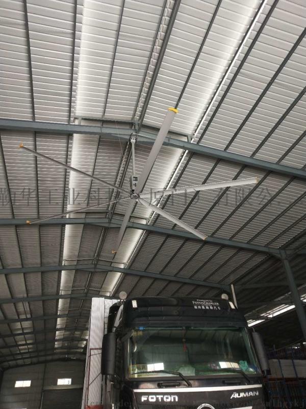 廈門勒華節能大風扇通風降溫設備