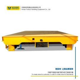 低压轨道供电动平车 蓄电池轨道钢丝绳牵引车