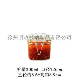 玻璃罐泡菜泡 玻璃瓶储物罐泡菜罐蜂蜜罐密封罐子