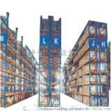 大型仓库专用货架重型货架广东货架厂桔红色横梁货架