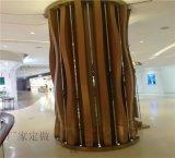 餐厅铝合金大树包柱异形铝树木纹树状包柱铝板