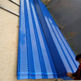 擋風板安裝 工業用防塵牆 pe防風固沙網方格