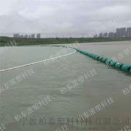 塑料拦污浮筒 可定制尺寸河道浮球