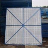 建筑高层安全防护网 圆孔钢板爬架网片