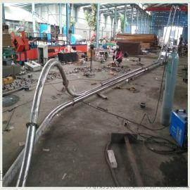 无粉尘管链上料机 不锈钢链板输送 LJXY 碳钢管