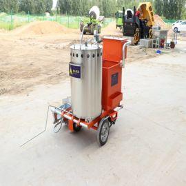 马路冷喷划线机 手扶式道路车位划线机 热熔划线机