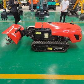 微耕机 田园管理机生产厂家 小型柴油履带式开沟机