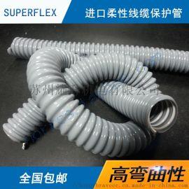 德国SUPERFLEX高柔性线缆保护管线束WELFLEX PVC 111