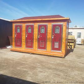 山西大同户外环保移动厕所街道厕所