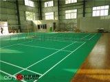 室內羽毛球場建設、專業羽毛球場地板材料廠家