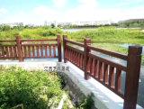 廣東仿木欄杆廠家有哪些供應,新村建設道路水泥仿木護欄