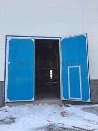 湖北厂房大门工业平开门车间门