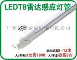 雷達感應燈管 人體感應燈 車庫燈 物業燈管