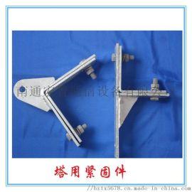 ADSS光缆杆用挂点金具 耐张用电力抱箍参数