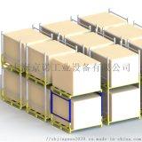 移動式巧固架可堆疊冷庫貨架