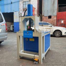 不锈钢防盗网液压冲孔机方管角钢槽钢切断下料机