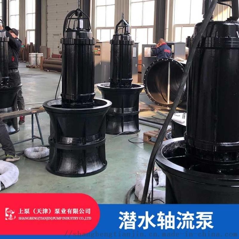 海南潛水軸流泵廠家_QZ系列軸流泵選型