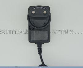 12V1A可转换插脚电源适配器 康诚惠12V1A