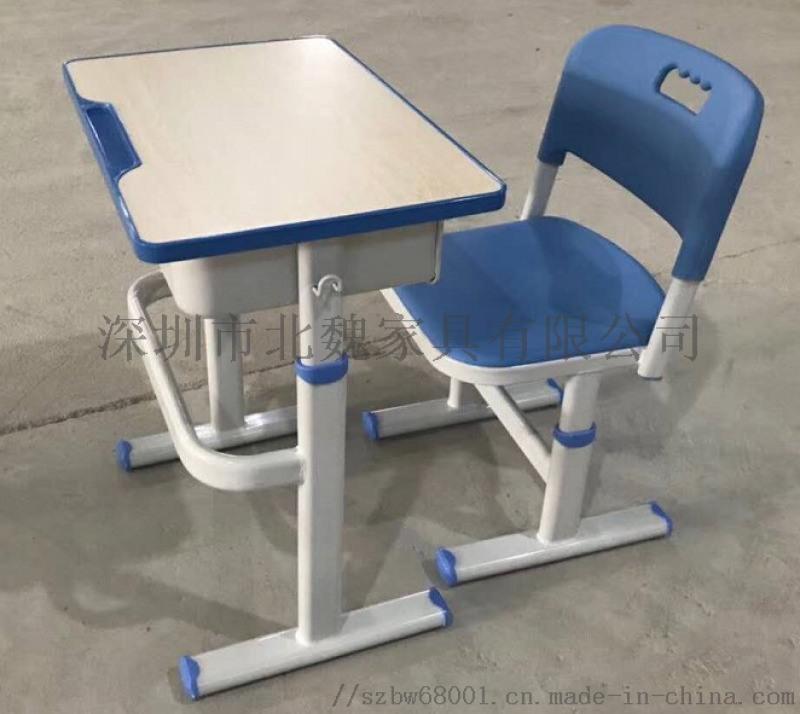 深圳学生课桌KZY001培训班课桌椅便宜卖了