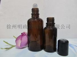 棕色避光瓶精油瓶滚珠瓶精华液瓶面霜瓶
