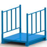 折叠堆垛架 可上货架围栏托盘 金属托盘