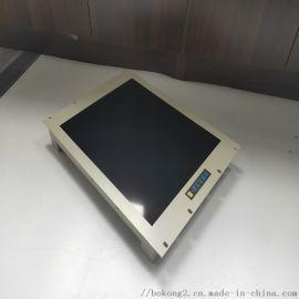 鑫博控高分辨率19寸上架式电阻触摸工业显示器