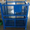 角钢倉儲籠 固定式可堆叠金属网箱 围栏托盤箱