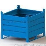 可堆垛移動式金屬週轉箱 鐵板箱鋼製料箱