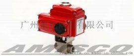 美国AMISCO进口电动高压螺纹球阀