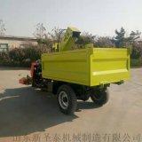 甘肃牲畜粪便专用清理车 柴油式养殖场粪便清粪车