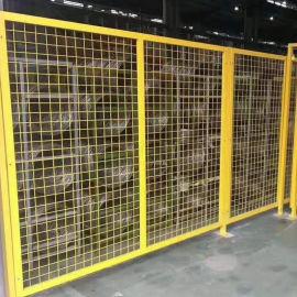 车间防护网/1.5米浸塑钢丝隔离网
