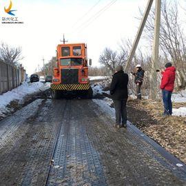 泥濘路面臨時鋪路墊板實體廠家