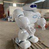 佛山机器人外壳雕塑厂定制优质玻璃钢机器人雕塑
