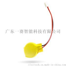 纽扣电池厂家CR2032引线焊片电池