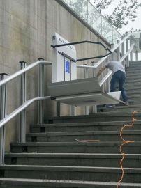 晋城市轮椅爬楼设备电动爬楼车残疾人无障碍电梯