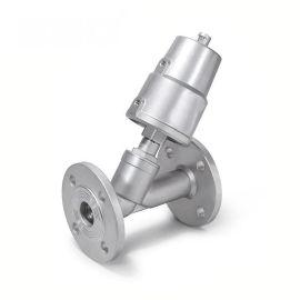 进口不锈钢气动角座阀-304-316-304L