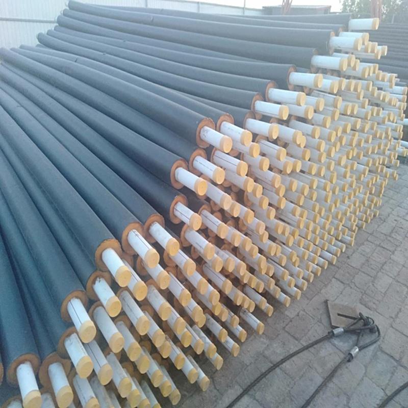 聚氨酯防腐式保温管 直埋架空泡沫保温管道