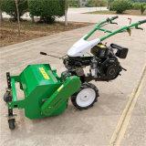 新型猕猴桃园割草粉碎机,除草还田小型打草机